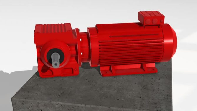 Electric engine configurator with Lino® 3D Web