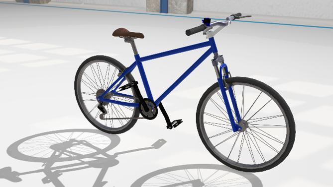 Bike configurator with Lino® 3D Web