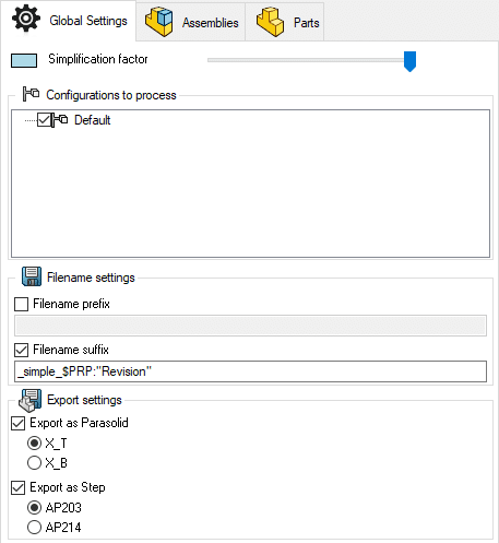 Lino-Simplify-global-settings
